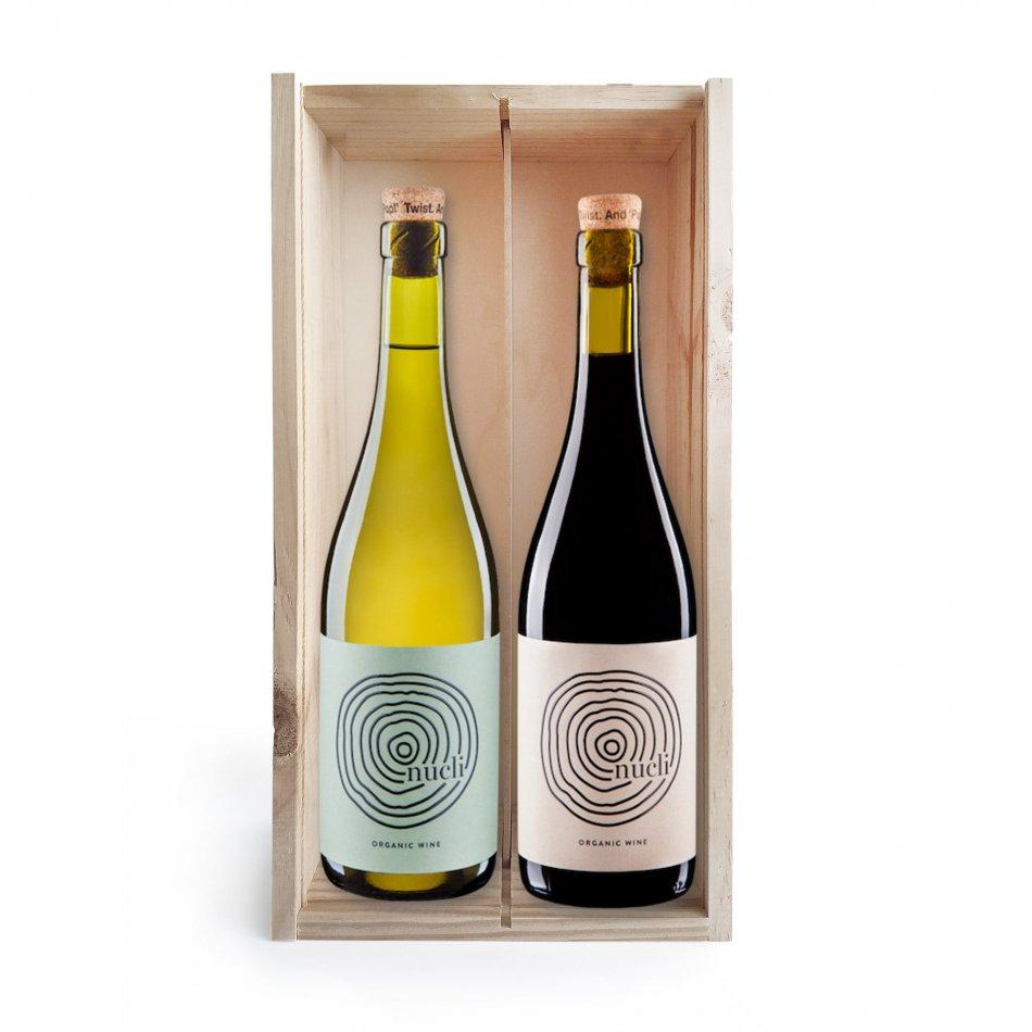 Wijnkist Nucli Duo Organic